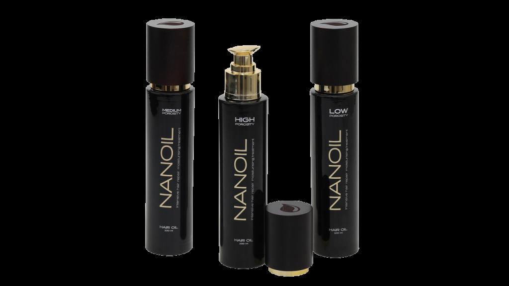 Olejek do włosów Nanoil z naaturalnymi olejkami